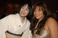 Kaori Momoi and Tisha Campbell at the MMPA's 13th Annual Diversity Awards.