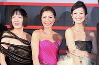 Kaori Momoi, Michelle Yeoh and Zhang Ziyi at the Japan Premiere of