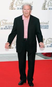Pierre Mondy at the TF1 party during the 45th Television Festival of Monte Carlo.