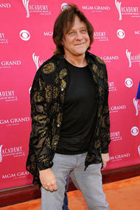 Singer-songwriter Eddie Money arrives at the 43rd annual Academy Of Country Music Awards held at the MGM Grand Garden Arena.