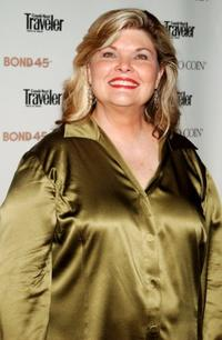 Debra Monk at the Brooke Shield's