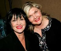 Chita Rivera and Debra Monk at the musical tribute to composer John Kander.
