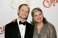 Hyde Pierce and Debra Monk at the after party of the New York opening night of
