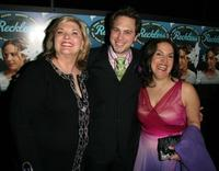 Debra Monk, Thomas Sadoski and Olga Merediz at the after party of the New York opening night of