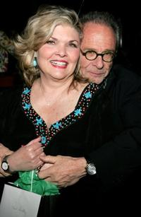 Debra Monk and Ron Rifkin at the after party of the New York opening night of