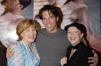 Debra Monk, Harry Connick, Jr. and Susan Stroman at the New York opening of