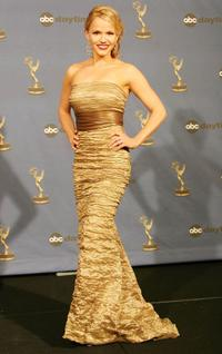 Alexa Havins at the 33rd Annual Daytime Emmy Awards.