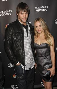 Justin Bruening and Alexa Havins at the premiere of