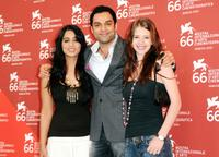 Mahi Gill, Abhay Deol and Kalki Koechlin at the photocall of