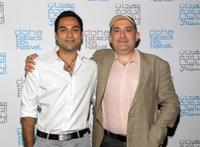 Abhay Deol and Dev Benegal at the press conference of