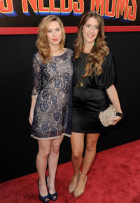 Cherilyn Wilson and Clare Alonso at the California premiere of