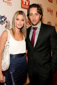 Alex O'Loughlin and Guest at the TV Guide's Sexiest Stars party.