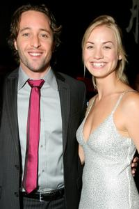Alex O'Loughlin and Yvonne Strahovski at the TV Guide's Sexiest Stars party.