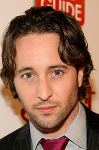 Alex O'Loughlin at the TV Guide's Sexiest Stars party.