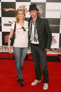 Holly Valance and Alex O'Loughlin at the world premiere of
