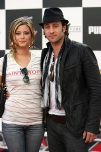 Holly Valance and Alex O'Loughlin at the premiere of