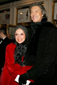 Liliane Montevecchi and Tommy Tune at the play opening night of