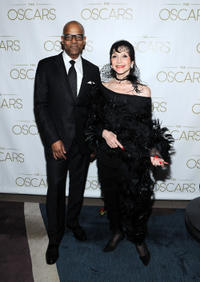 Patrick Harrison and Liliane Montevecchi at the 85th Academy Awards Official New York City Viewing party.