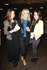 Dani Shay, Madison Riley and Lauren Kent at the Launch of Falling Whistles