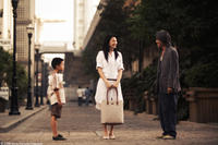 Xu Jiao as Dicky Chow, Kitty Zhang as Miss Yuen, Stephen Chow as Ti Chow in