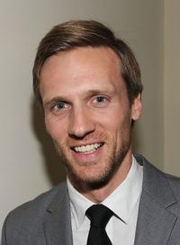 Teddy Sears at the Golden Globes party hosted by T Magazine and Dom Perignon.
