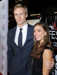 Teddy Sears and Melissa at the AFI FEST 2009.