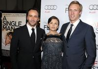 Director Tom Ford, Ginnifer Goodwin and Teddy Sears at the AFI FEST 2009.