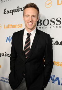 Teddy Sears at the Grand Opening of Esquire House LA to benefit International Medical Corps in California.