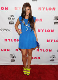 Electra Avellan at the NYLON Magazine 13th Anniversary Celebration in California.