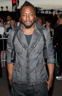 will.i.am at the premiere of