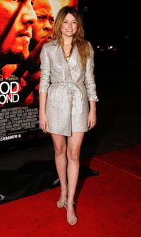 Haley Bennett at the premiere of