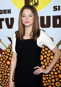 Haley Bennett at the MTV's Total Request Live.