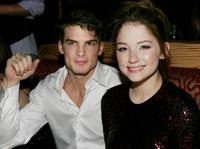 Rick Malambri and Haley Bennett at the after party of the premiere of