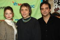 Haley Bennett, Director Marc Lawrence and Adam Schlesinger at the VH1 Save the Music Foundation.