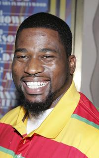 David Banner at the Midsummer Night's Dream Celebrity Poker evening.