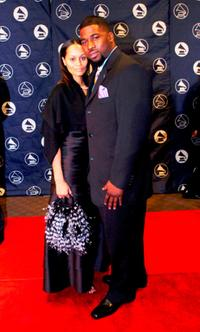 Blu Bolden and David Banner at the 2005 Memphis Chapter of Recording Academy Honors.