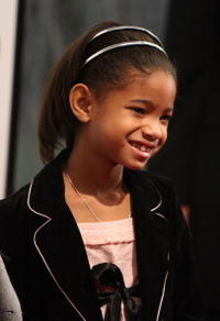 Actress Willow Smith at the N.Y. premiere of