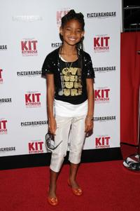 Willow Smith at the premiere of