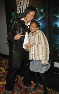 Willow Smith and Guest at the premiere of