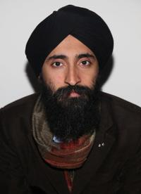 Waris Ahluwalia at the Mercedes-Benz Fashion Week.