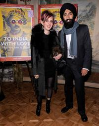 Hope Atherton and Waris Ahluwalia at the
