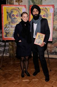 Natalie Portman and Waris Ahluwalia at the