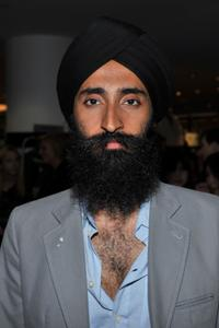 Waris Ahluwalia at the Barneys New York celebration of Fashion's Night Out.