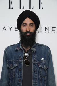 Waris Ahluwalia at the Mercedes-Benz Fashion Week Spring 2011.