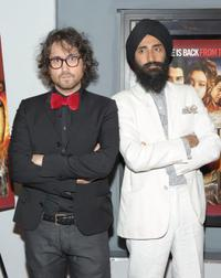 Sean Lennon and Waris Ahluwalia at the premiere of