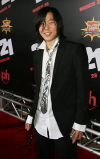 Actor Aaron Yoo at the Las Vegas premiere of