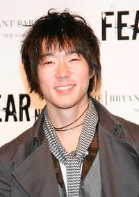 Aaron Yoo at the FEARnet's 2nd anniversary party.