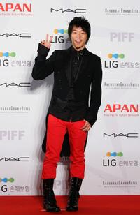 Aaron Yoo at the 13th Pusan International Film Festival.