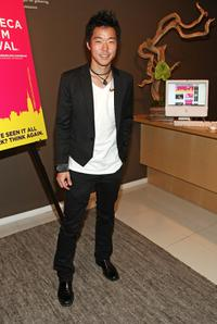 Aaron Yoo at the cocktail reception celebrating the 2009 Tribeca Film Festival.