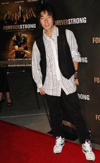 Aaron Yoo at the screening of